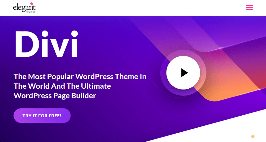divi wordpress theme - avada vs divi